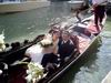 Newlyweds on a gondola 1