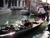 Newlyweds on a gondola 2